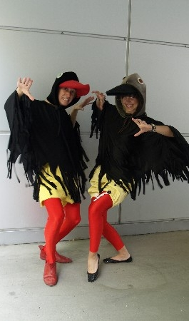 Keisiraadio Linnud kostüümid