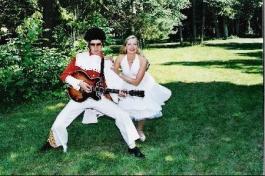 Presley ja Monroe kostüüm