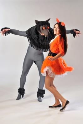 Rebane ja Hunt kostüüm