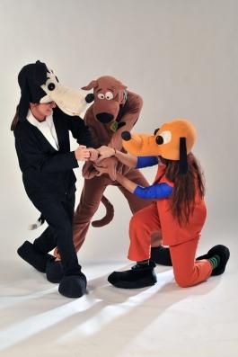 Scooby Doo, Pluto, Goofy