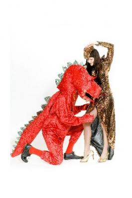 Punane Draakon kostüüm