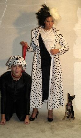Cruella ja Kutsikad kostüüm