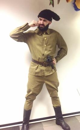 Tšapajev kostüüm