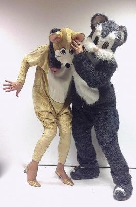 Tom ja Cherry kostüüm