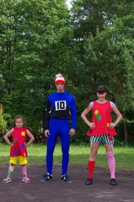 Sportlased ja Pipid kostüüm