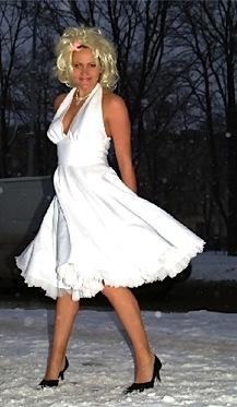 Merilyn Monroe kostüüm