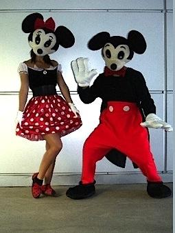 Miki ja Minni kostüüm