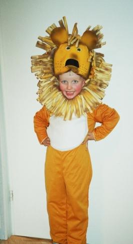 lõvi laps kostüüm