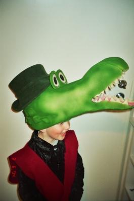 Krokodill Gena laps kostüüm