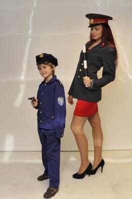 Politsei ja miilits kostüüm