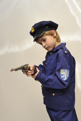 Polisei laps kostüüm