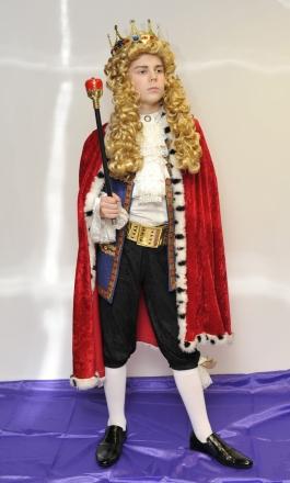 Kuningas laps kostüüm