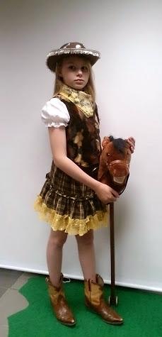 cowboy tüdruk
