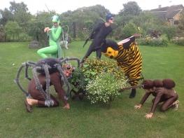 Ämblik, sipelgas, mesilane kostüüm