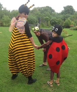 Mesilane ja Lepatriinu kostüüm