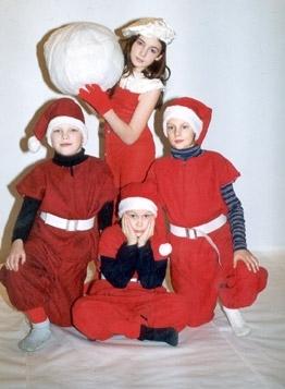 jõulupäkapikud lapsed kostüüm