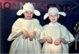 Lammas laps kostüüm
